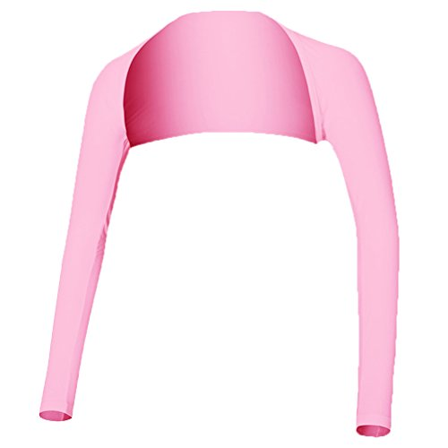 VORCOOL 抗UV冷却ショールアームスリーブ日焼け止め女性用快適な通気性ゴルフアウトドアスポーツ - サイズXL(ピンク)