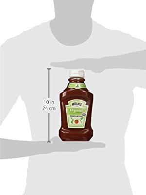 Heinz Twin Pack Organic Tomato Ketchup, 88 Ounce