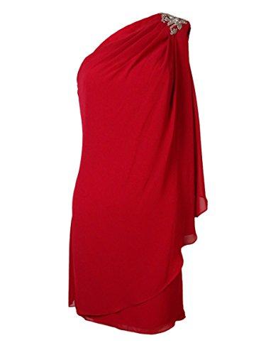 js boutique beaded chiffon dress - 4