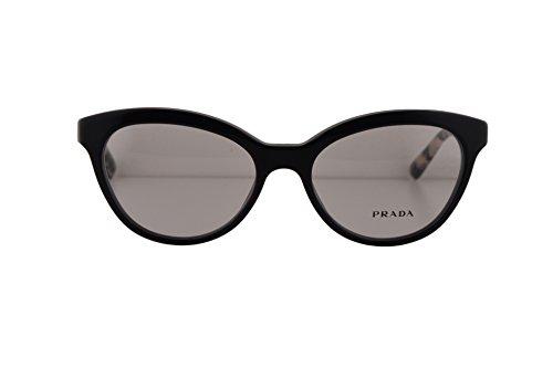 Prada PR11RV Triangle Eyeglasses 52-17-140 Opal Gray w/Demo Clear Lens TFN1O1 VPR11R VPR 11R PR 11RV (NO BOX & NO - Case Prada Eyeglasses