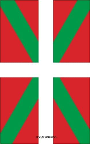 Flag of Basque Country: Notebook with lines