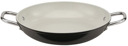 - Paderno World Cuisine 11-Inch Ceramic Coated Paella Pan