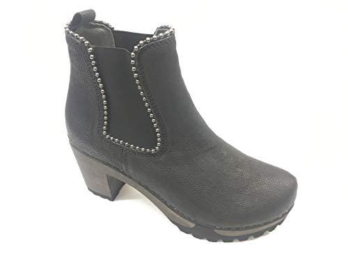 3455 Noir Bottes Softclox 02 pour Femme fwP6Wdqxv1