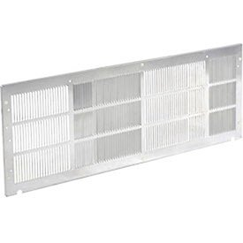 Wall Sleeve Grille forUniversal Packaged Terminal Air Conditioner PTAC , Stamped Aluminum by Global Industrial