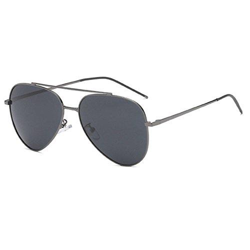 Aoligei Pilote de lunettes de soleil homme lunettes de soleil polarisées grenouille X5KMRcZK3