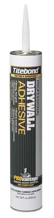 Drywall Adhesive, 28 oz, Lt. Beige- Pack of 10