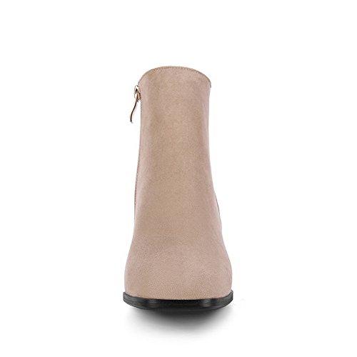 BalaMasa Abl09978, Sandales Compensées femme - Beige - abricot,
