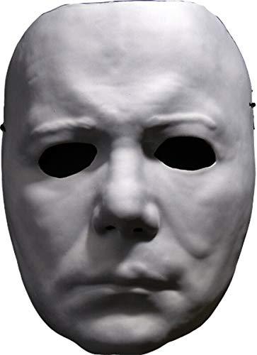 Adult Halloween Michael Myers Vacuform Mask - -
