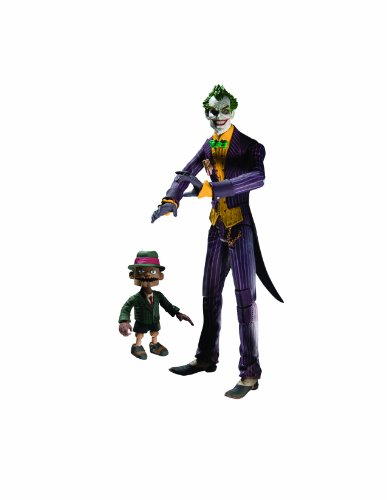 DC Direct Batman: Arkham Asylum Series 1: The Joker with Scarface Action Figure