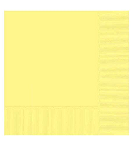 (Light Yellow 2-Ply Luncheon Napkins, 50 ct.)