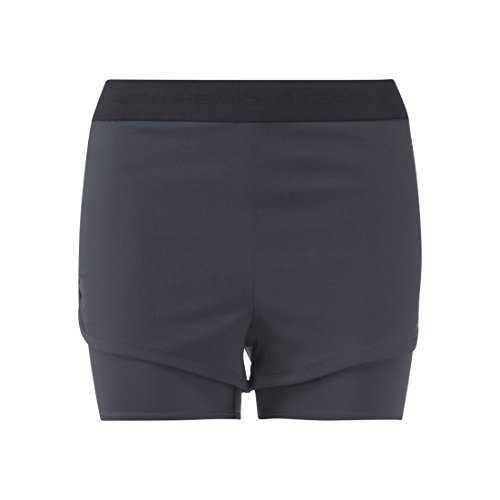 (X-Small, Anthracite) - HEAD Women's Vision Shorts