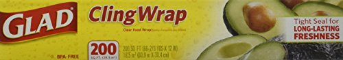 012587000205 - Glad Cling Wrap 200 sq ft carousel main 0