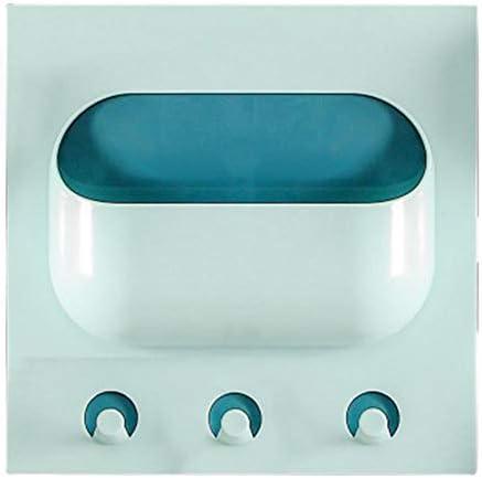 UMTGE douche planken muur gemonteerd badkamer douche accessoires badkamer planken geen boren diep blauw