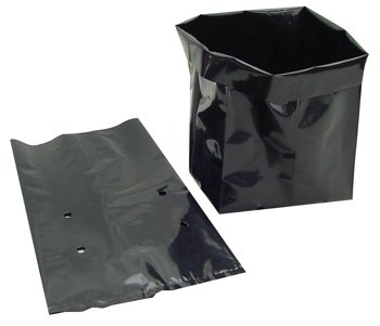 Amazon black plastic plant grow dirt bag 12 gal pot container black plastic plant grow dirt bag 12 gal pot container 5 gal hgb0 workwithnaturefo