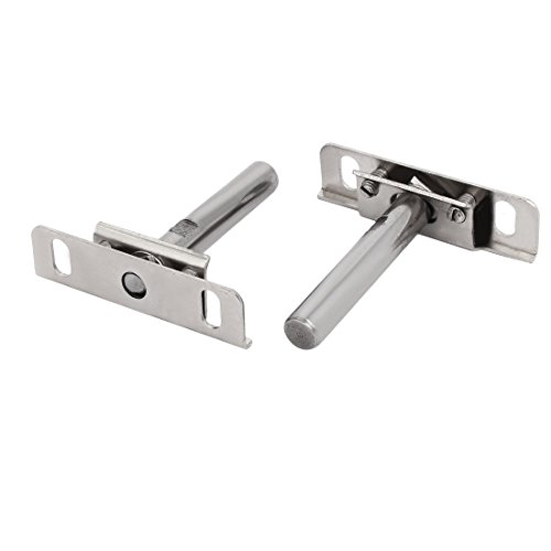 uxcell 12mm x 70mm Metal Hidden Concealed Invisible Shelf Support Bracket 2pcs by uxcell