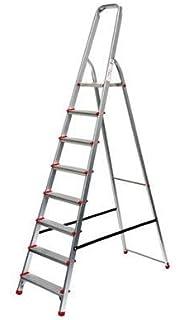 2*7 Stufen FACAL Dupla hochwertige Stufenstehleiter  beidseitig begehbar
