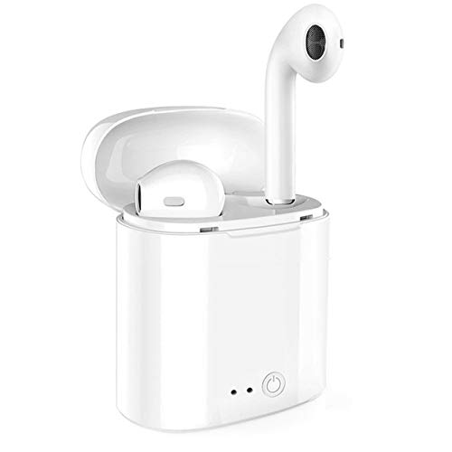 Bluetooth Headphones Wireless Earbuds Mini Earphones in-Ear Stereo Sound Noise Cancelling 2 Built-in Mic Earphones iPhone X iPhone 8 8plus 7 7 Plus 6s 6s Plus nd Samsung Phones and Andro(Mini)