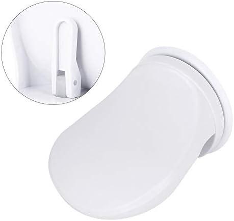 NIMOA Duschfußstütze - rutschfeste Kunststoff-Badezimmerdusche for Die Rasur der Beine Fußstütze Saugnapf