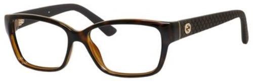 Gucci GG 3717 Eyeglasses 0INI Havana - Eyeglass Safilo Frames Gucci