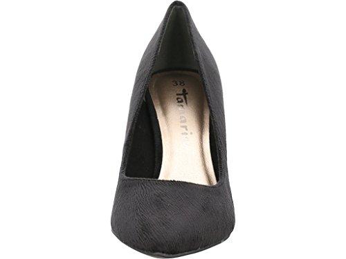 006 Court Shoes 11 Black 22457 29 Tamaris Structure Women's HSn6wqA6xp