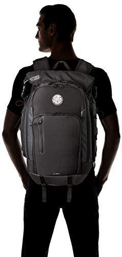31yVirGEOiL - Rip Curl Men's F-Light Surf Molded Backpack, midnight, 1SZ