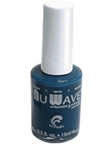Nu Wave Antifungal & Enriched Nail Polish (Ella Bella (Shiny Blue))