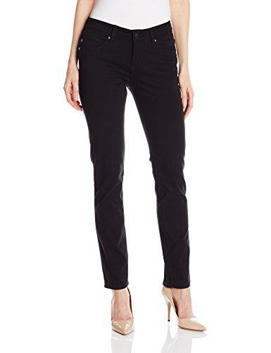 LEE Women's Petite Modern Series Midrise Dream Jean Faith Skinny Jean (10 Short Petite, Black)