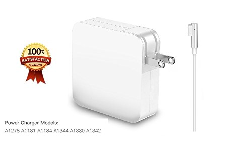 Macbook Pro Charger,JEFF Replacement 85W Magsafe Magnetic L-Tip Power Adapter Charger for MacBook Pro 15 inch and 17 inch(Until Mid 2012 Models) by Sea Tech