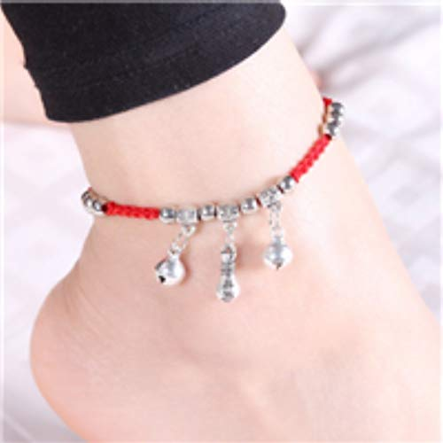 - WTYKD (Buy get one Free) Natural Jade Hand-Woven red String anklets Women Girls Student Transfer Beads Crystal (Purse f062
