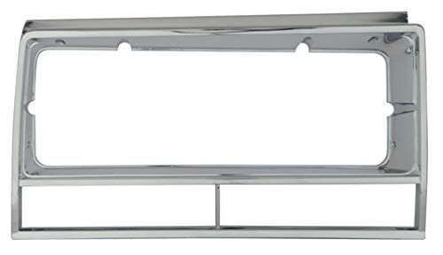 El Camino Headlamp Bezels - Impala Bob's 1982-87 El Camino Right Headlamp Bezel