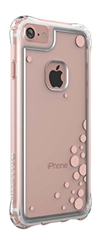 Ballistic Jewel Essence Case for Standard Size 4.7-Inch Apple iPhone 8/7/6S/6 - Clear/Rose Gold Bubbles - Not Compatible with iPhone Plus 5.5-Inch Screen Size Smartphones