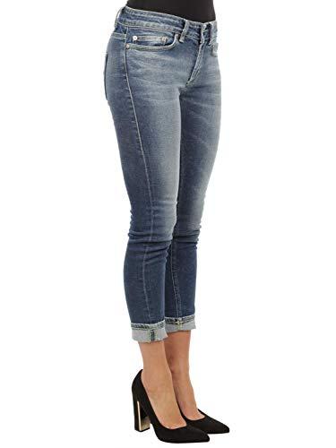 Femme Jeans Dondup Bleu P692ds0189t50g800 Coton cFJK1l