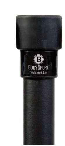 Body Sport Weighted Bars, Weight Lifting Bars for Strength Training and (Flexibility Bar)