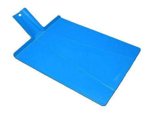 Joseph Joseph Chop 2 Pot Plus Folding Chopping Board, Blue
