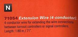 Marklin Start Up Extension Wire 4 (Marklin Electric Trains)