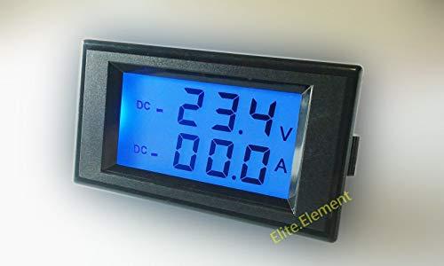 FidgetFidget DC 0-200V +/-200A Combo Meter Inverter Battery