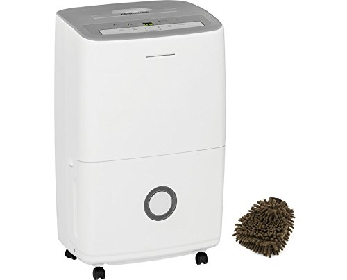 FFAD7033R1 Dehumidifier Frigidaire, 70 Pint, White - Energy Star Effortless Humidity Control (Complete Set) w/ Gift: Premium Microfiber Cleaner by Unknown