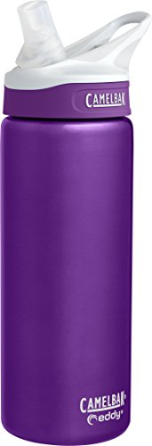 CamelBak Eddy Vacuum Insulated Stainless Water Bottle, 0.6 L, Acai by CamelBak