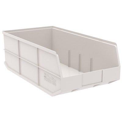 "1800 Series Shelf Bin [Set of 6] Size: 7"" H x 8.25"" W x 20.5"" D"