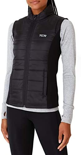 TCA Women's Excel Runner Thermal Lightweight Running Gilet / Bodywarmer with Zip Pockets