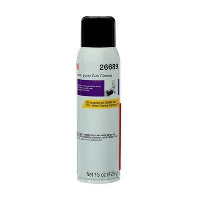 3M 26689 High Power Spray Gun Cleaner, 15 oz.
