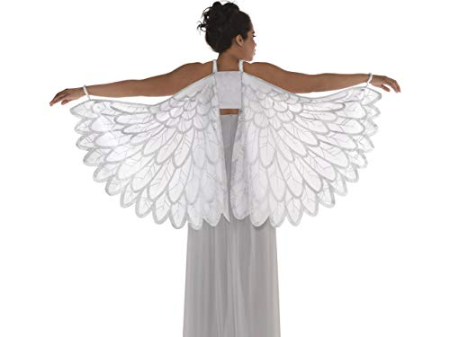 Amscan Adult Snow Fantasy Angel Wings