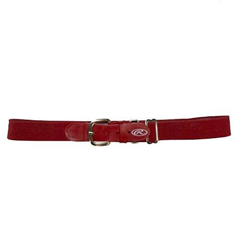 (Rawlings BLT-RED Adjustable Belt (Adult/Scarlet Red))