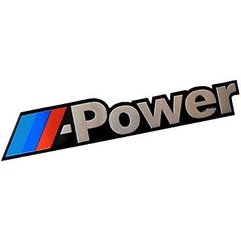 amazon com m power real aluminum engine hood emblem badge nameplate rh amazon com mpower login students m power logo