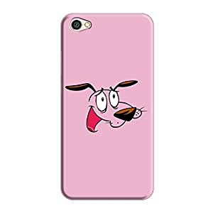 Cover It Up - Courage Print Redmi Y1 Lite Hard Case