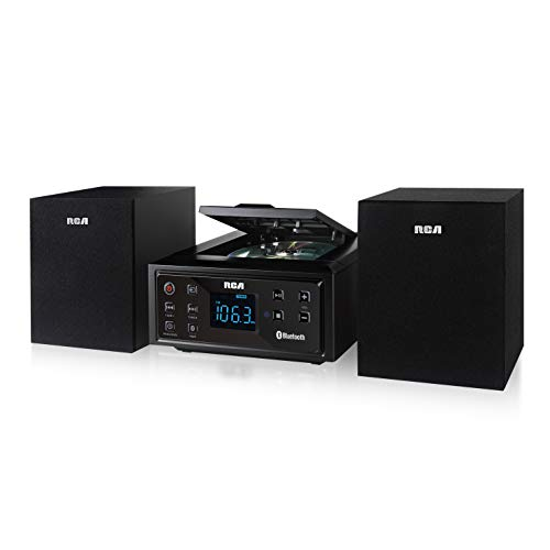 RCA (RS2929B) CD Stereo Music Shelf System - Built-in Bluetooth Receiver and Wireless Technology (Stereo Systems Rca)