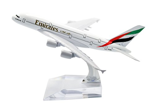 - TANG DYNASTY(TM) 1:400 16cm Air Bus A380 Emirates Airlines Metal Airplane Model Plane Toy Plane Model