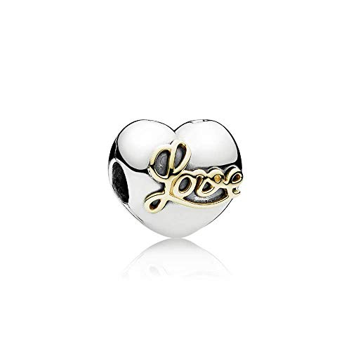 Pandora Heart Of Love Clip Charm in 925 Sterling Silver, -