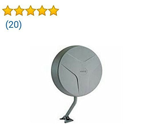 New [Newest 2018] Amplified HD Digital TV Antenna Long 65-80 Miles Range – Support 4K 1080p & All ...