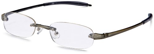 Visualites 205 Oval Reading Glasses,Olive Frame/Clear Lens,2.25 Strength,48 - Glasses Amazon Frames